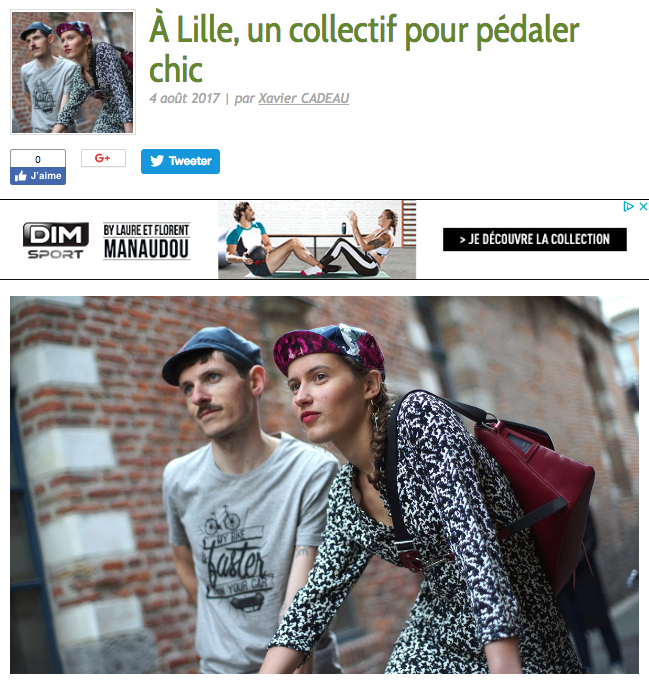 Gapettes collectif cycle chic lille