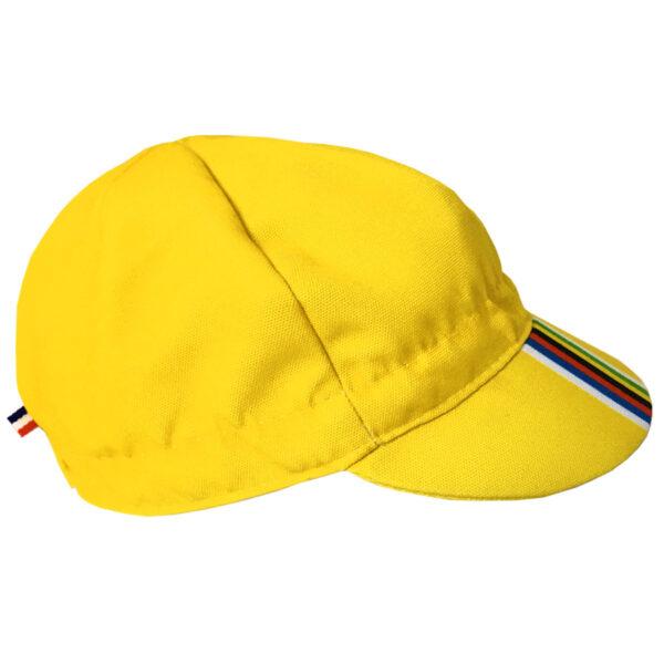 Gapette Champion jaune pour bébé vu de côté