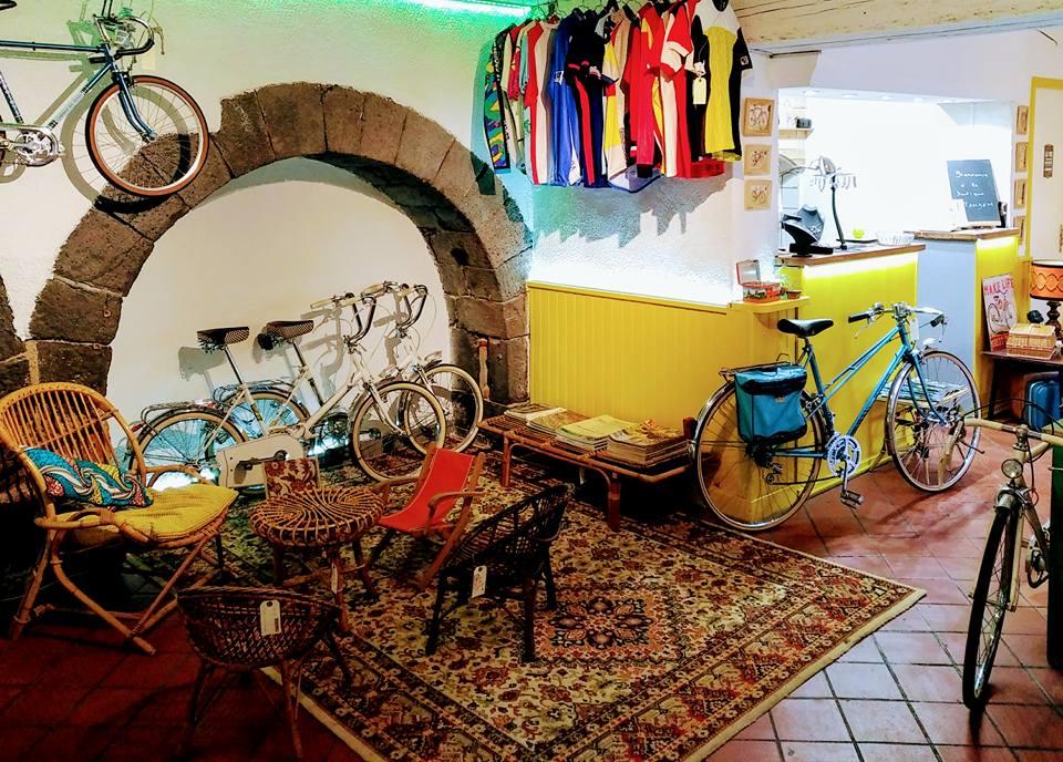 Boutique velo retro tandem à Clermont Ferrand