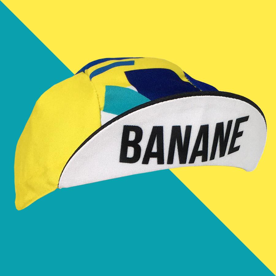 bb06b42958eae Casquette vélo BANANE | Vera Cycling, 100% made in France