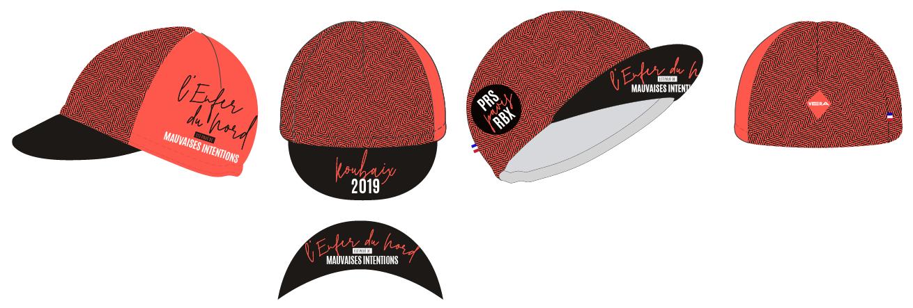 Paris-Roubaix 2019 casquette vélo vera cycling