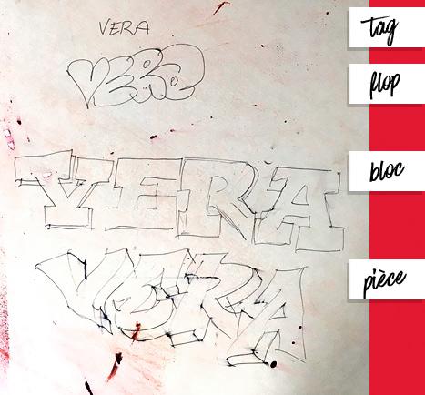 Cours de graffiti Roobey x Vera