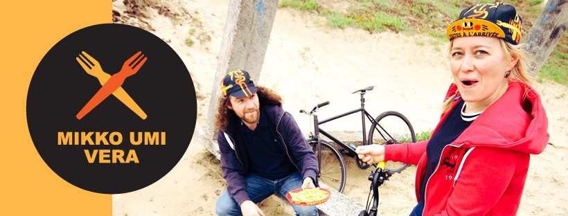Mikko Umi et Vera Cycling collaborent sur une gapette 100% NPDC