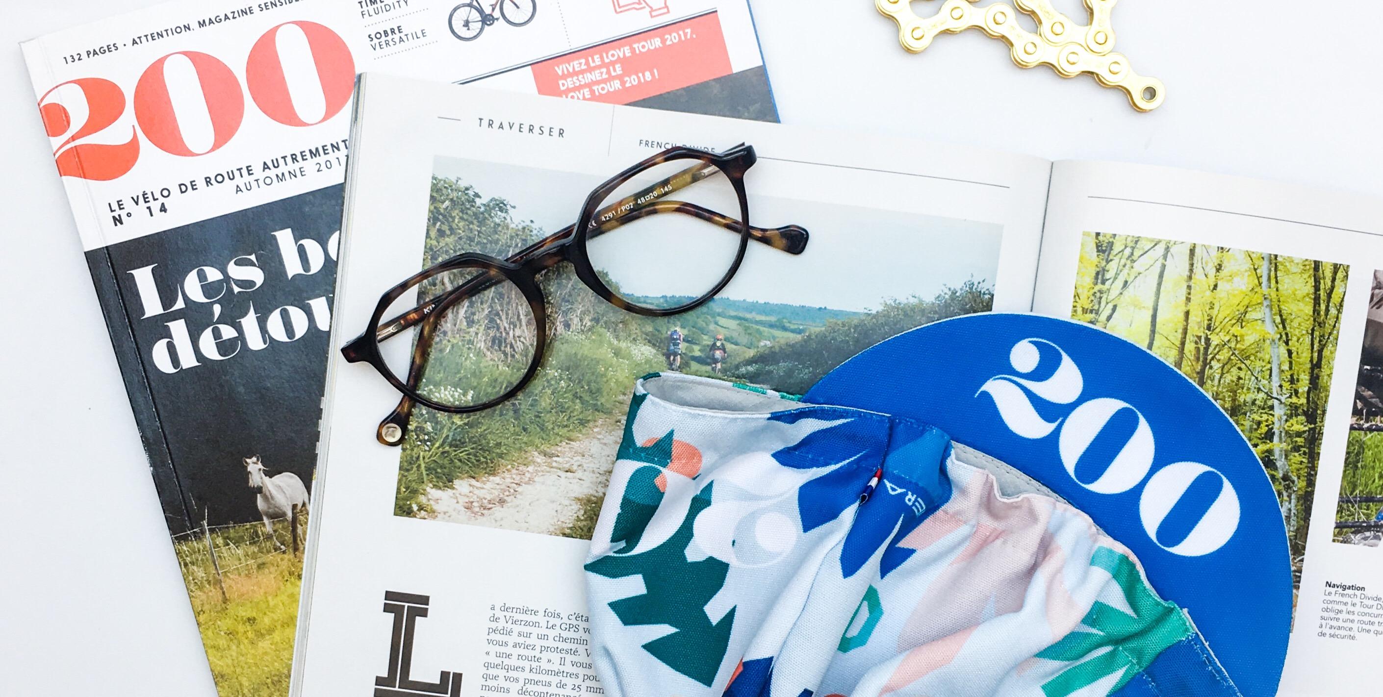 Casquette vélo Magazine 200