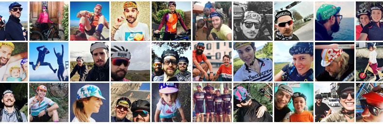 Gapettos VERA casquettes vélo