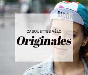 Casquettes vélo Originales