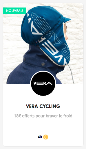 Récompense VERA Cycling sur Cycling Heroes