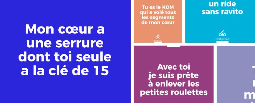 déclarations d'amour vélo Gazette de Josette