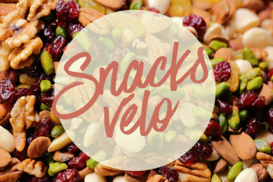 Idées de snacks à manger sur le vélo