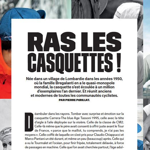 Velo magazine casquette vera cycling